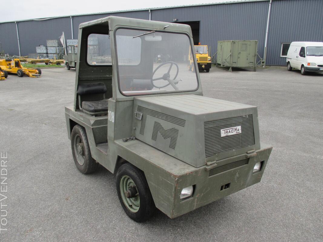 Tracteur industriel et d'aéroport - TRACMA TD 1500 B 121375904