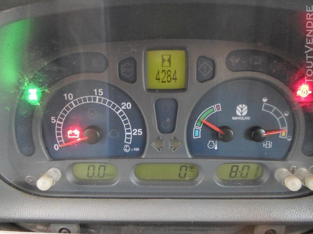 TRACTEUR NEW HOLLANDE TS110A ETAT IMPECABLE 146507081