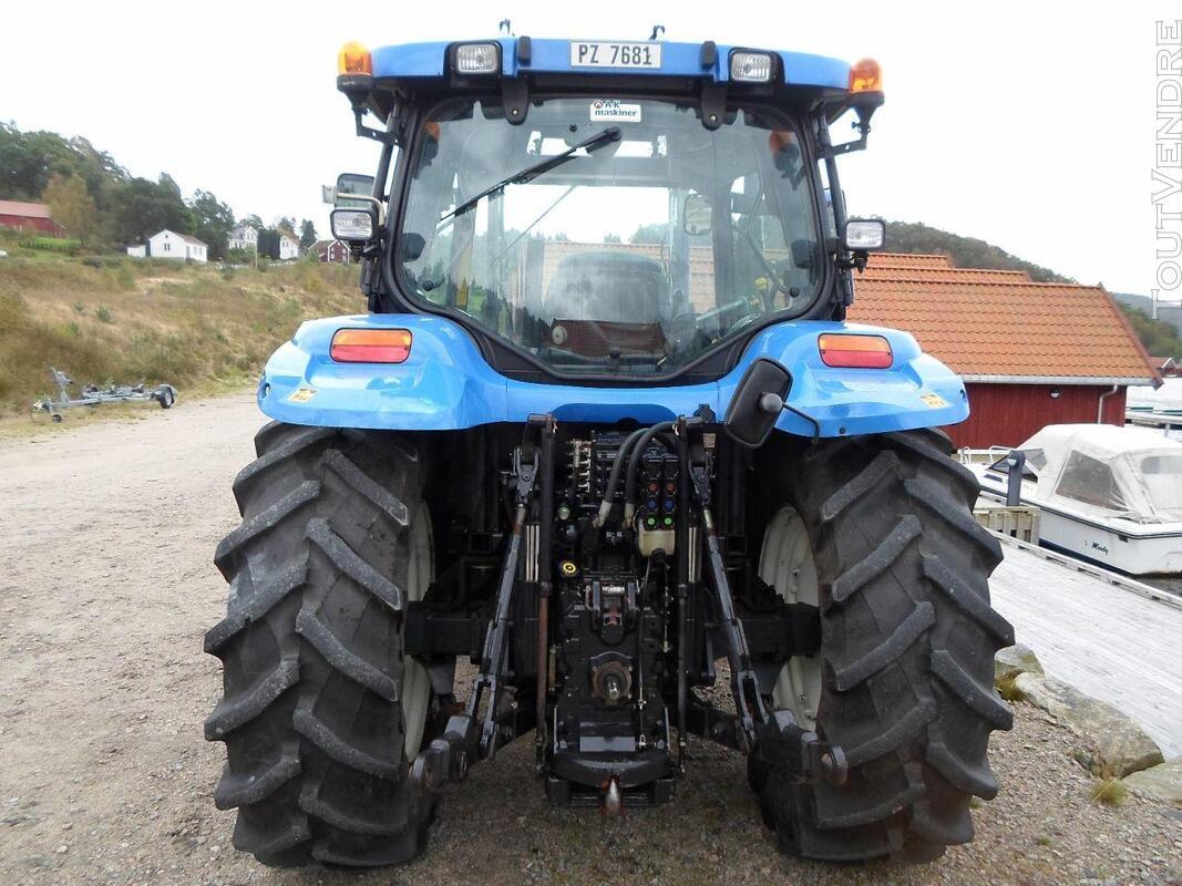 TRACTEUR NEW HOLLANDE TS110A ETAT IMPECABLE 146507084