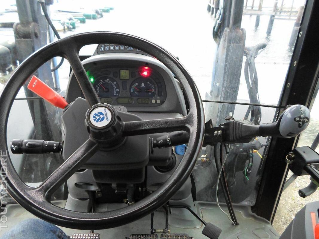 TRACTEUR NEW HOLLANDE TS110A ETAT IMPECABLE 146507085