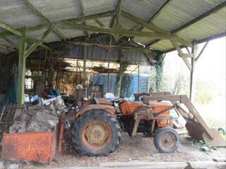 Tracteur someca 450 fourche godet et benne