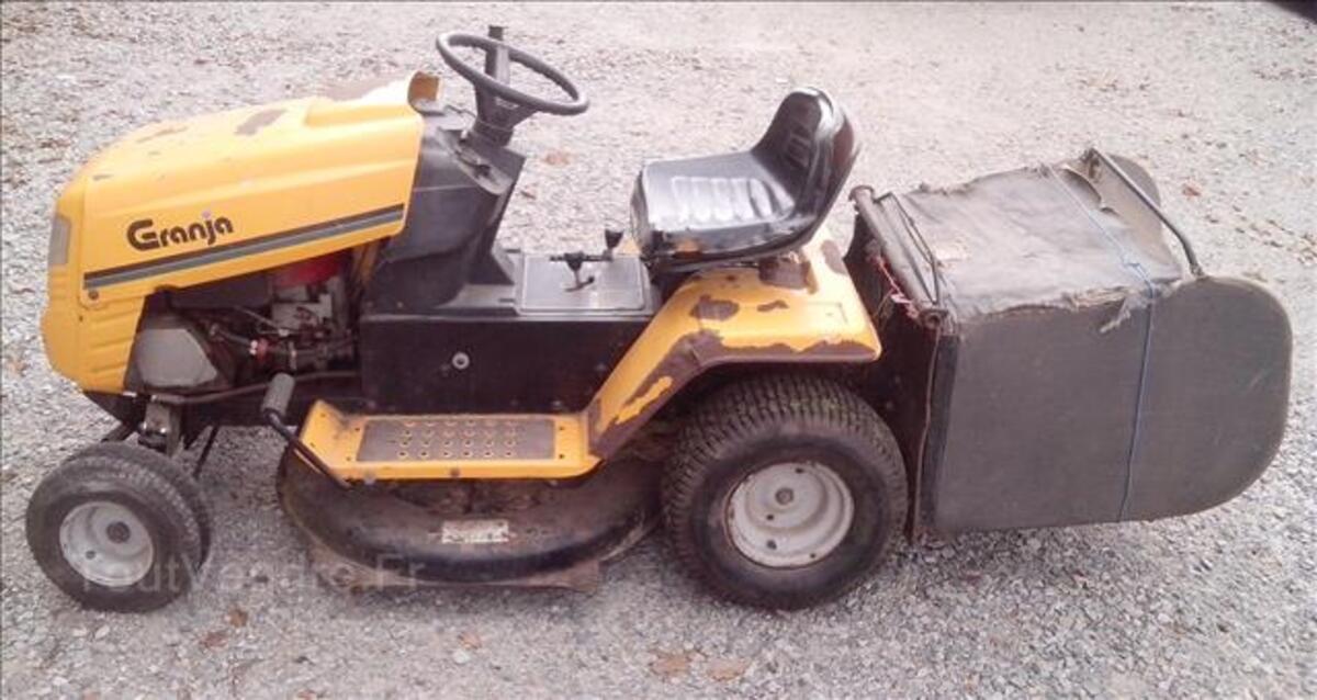 Tracteur tondeuse autoporte granja 12.5cv 80cm + bac 96653754