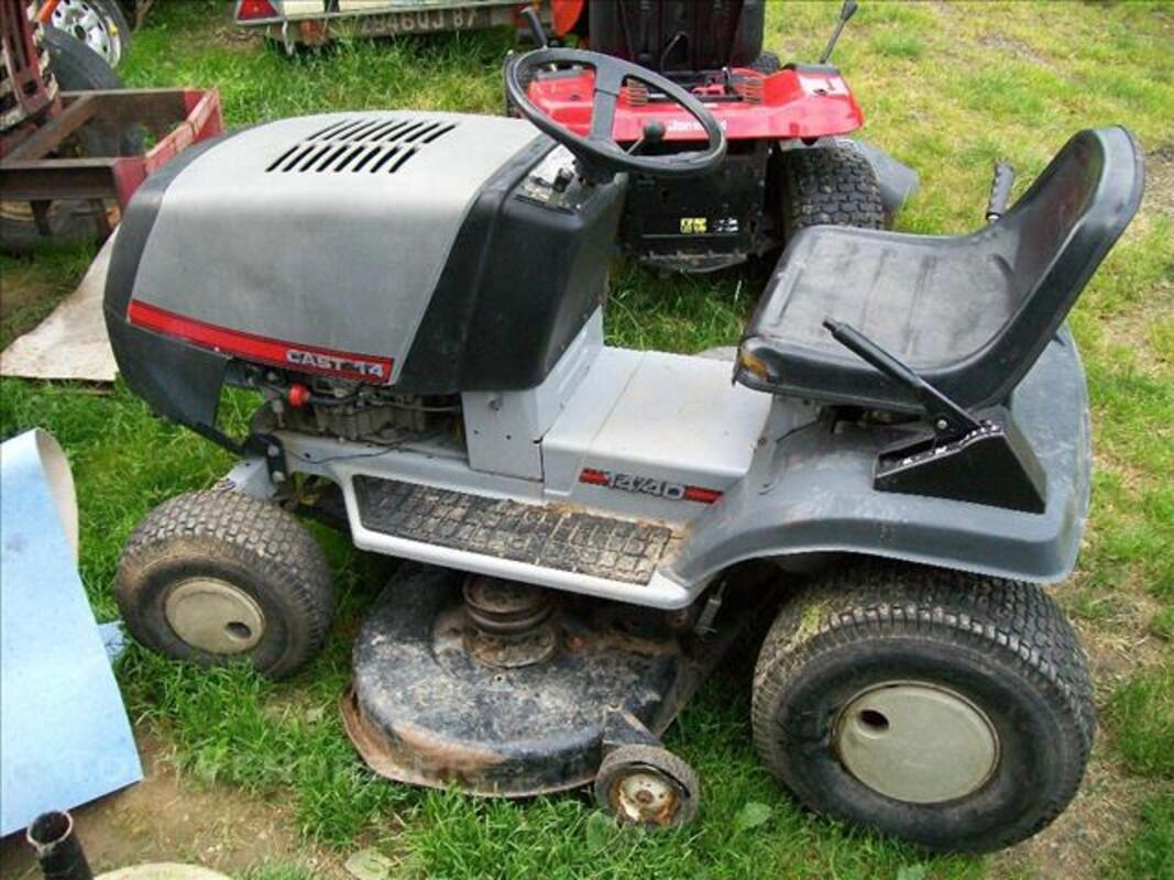 Tracteur tondeuse cast 40 84756044