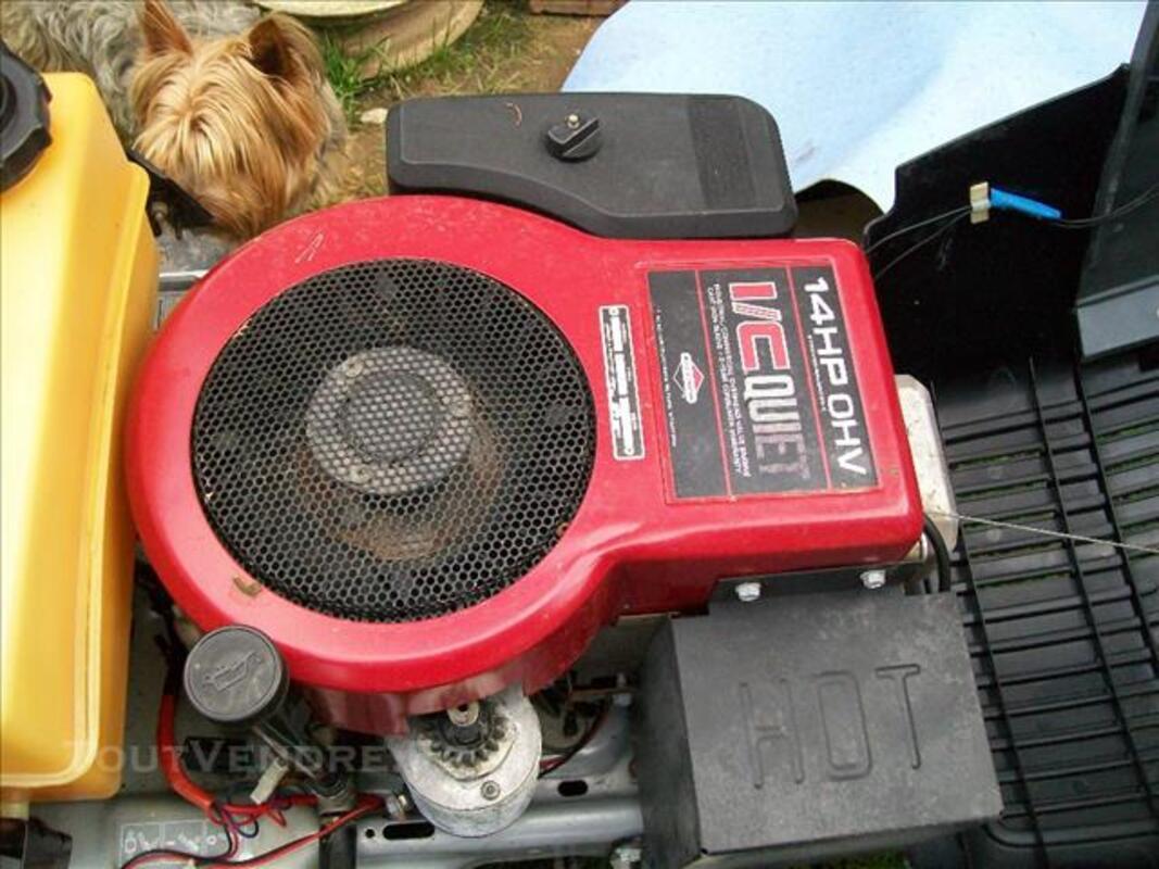 Tracteur tondeuse cast 40 84756046