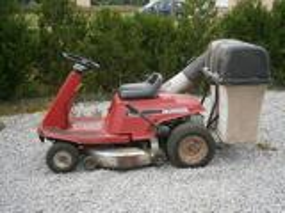 Tracteur tondeuse honda