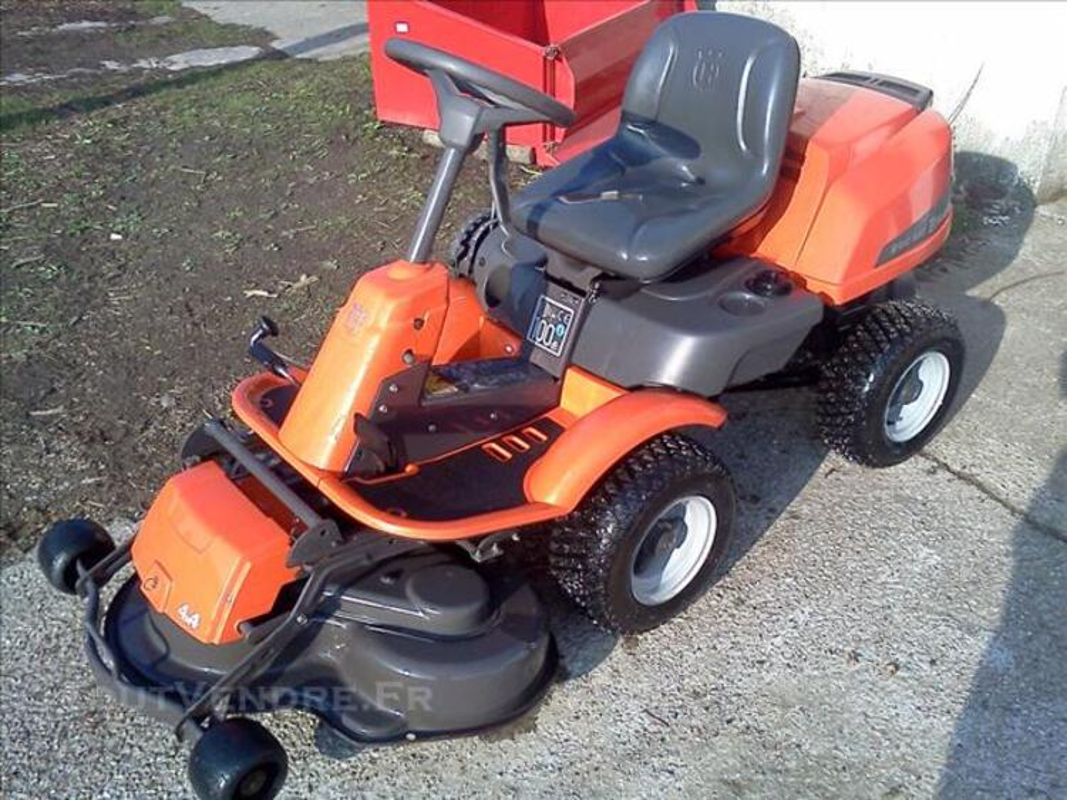 +++ Tracteur tondeuse Husqvarna Rider R16C AWD +++ 76196273