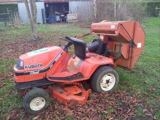 Tracteur tondeuse Kubota G 1900 HST Diesel