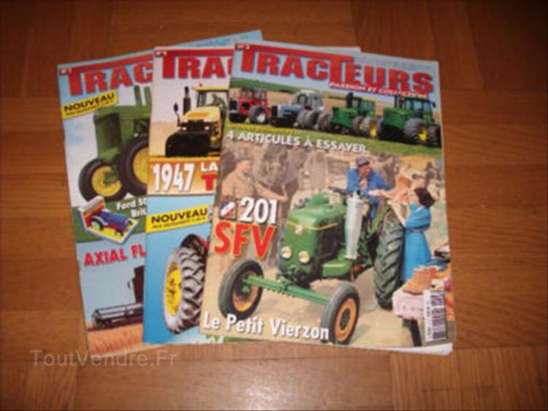 TRACTEURS PASSION  revues tracteurs anciens 56373675