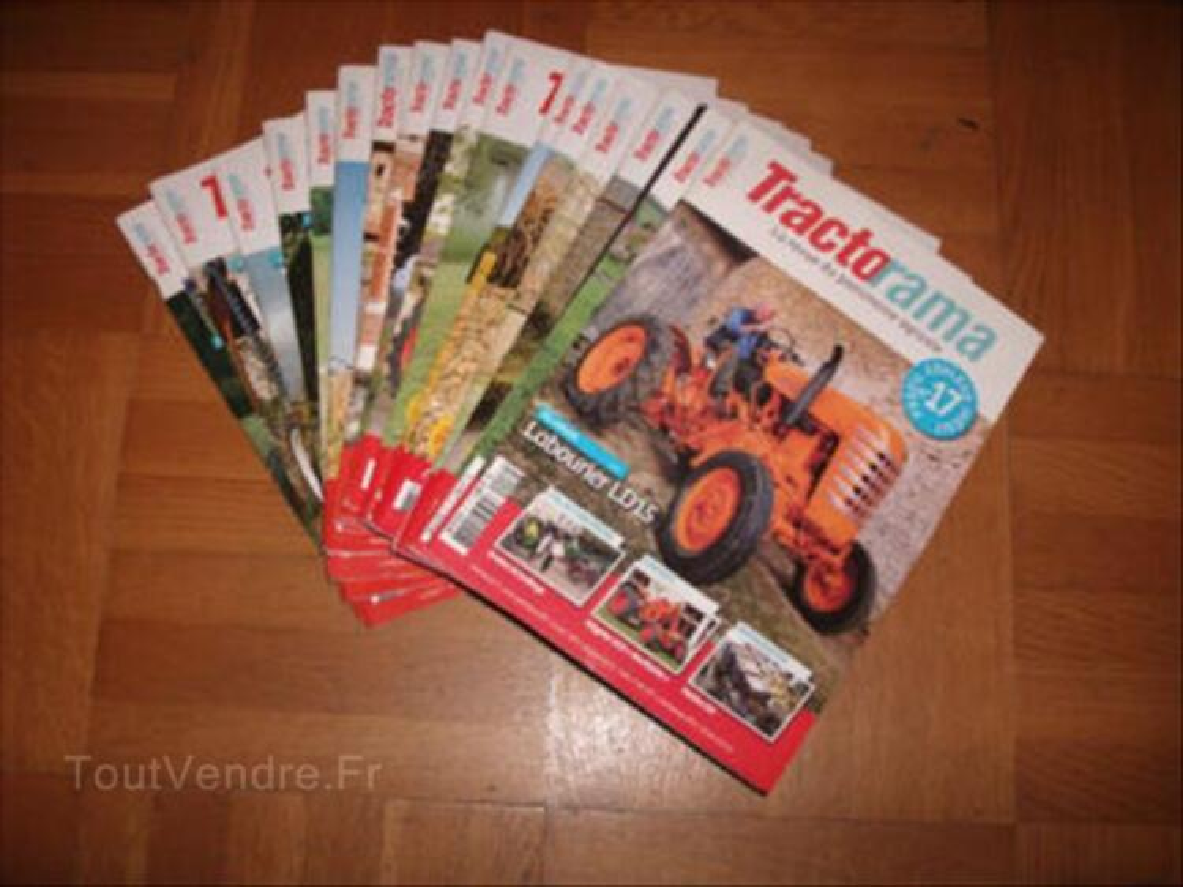 TRACTORAMA  revues tracteurs anciens 56314246