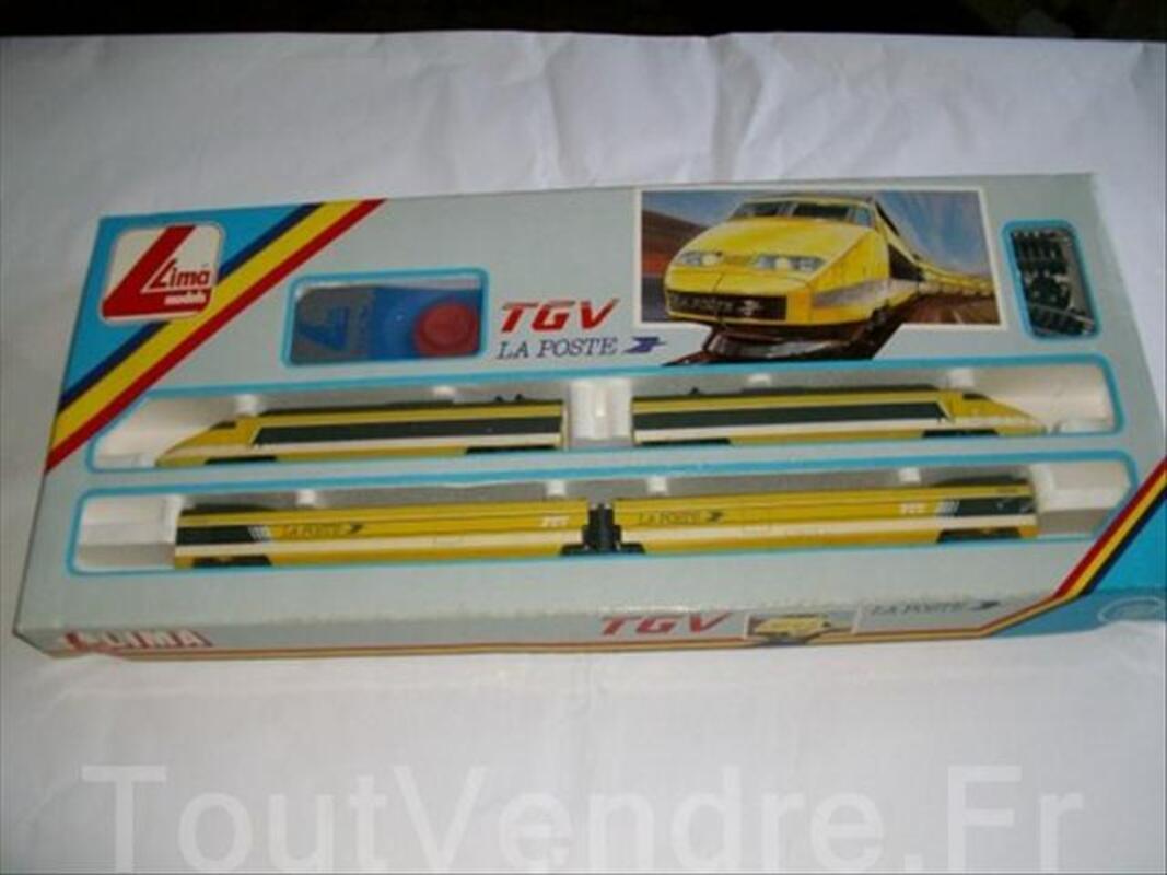 """Train de"""" COLLECTION TGV POSTE"""" 64475114"""