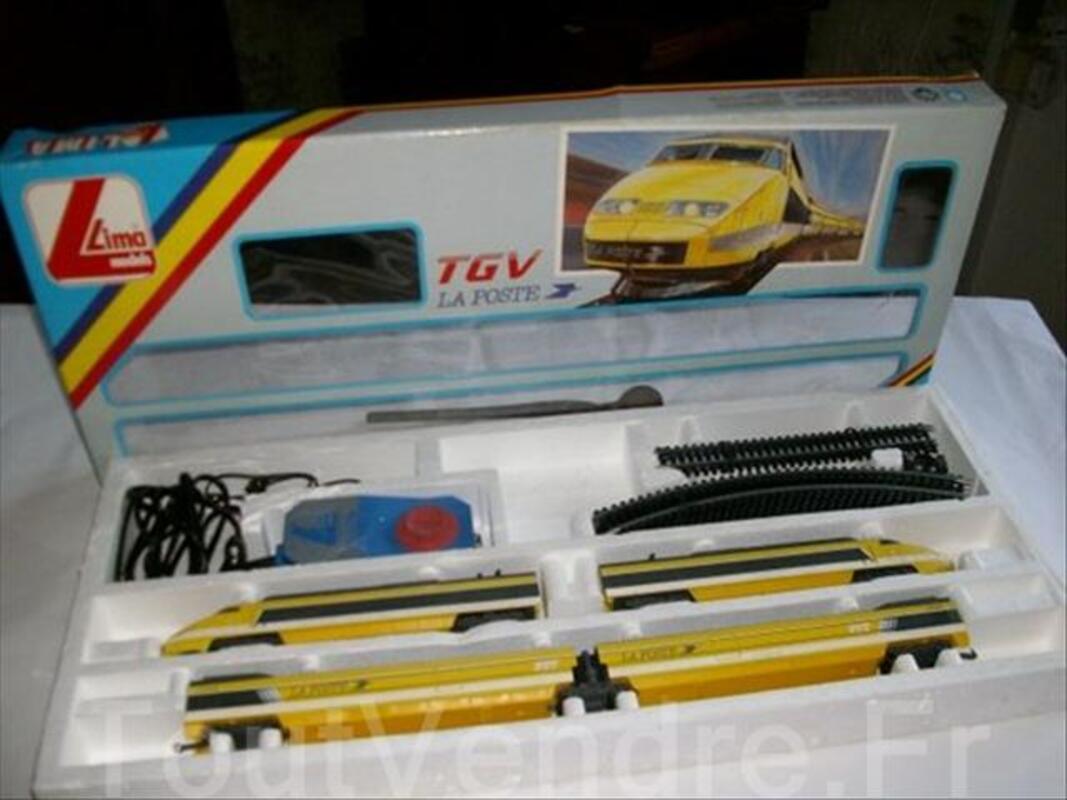 """Train de"""" COLLECTION TGV POSTE"""" 64475116"""