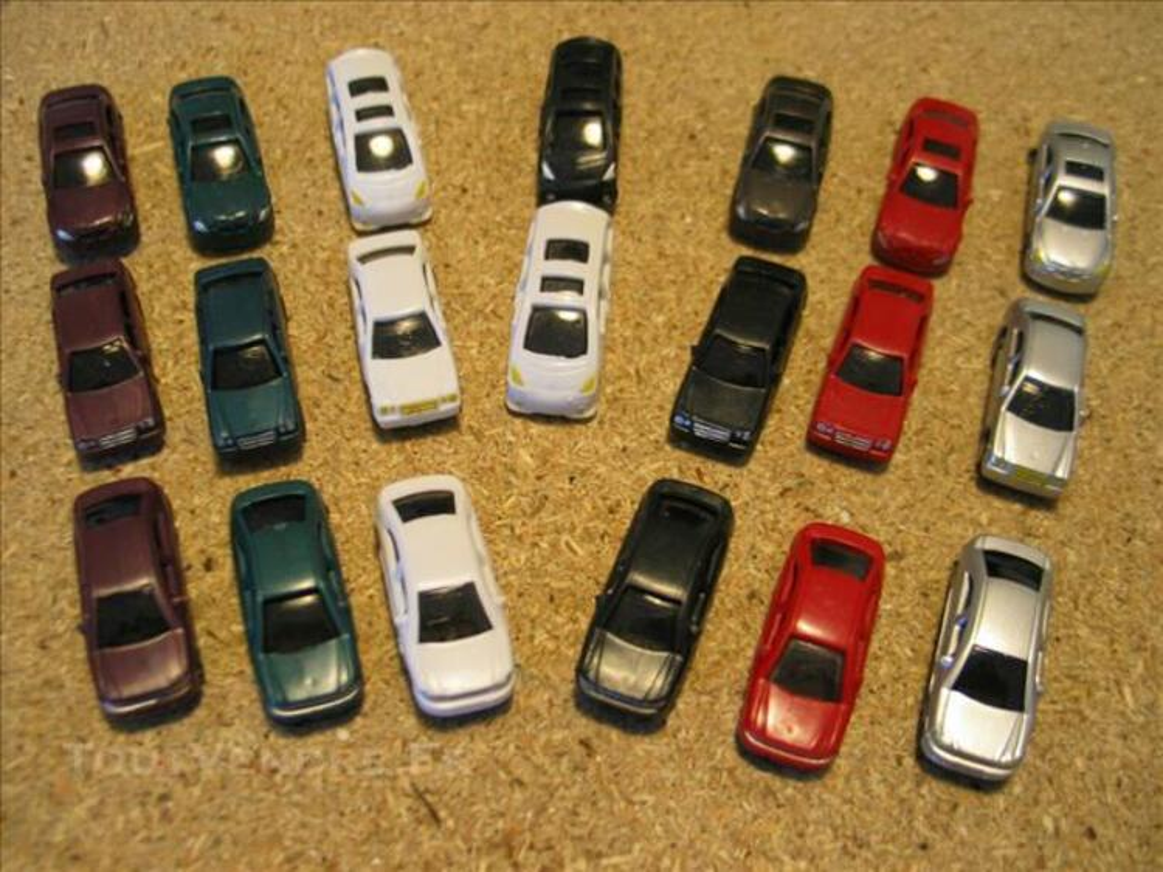 Train électrique 5 lots de 20 voitures 1/87 ho 84076065