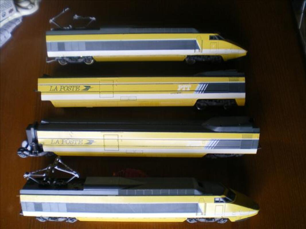 TRAIN ELECTRIQUE TGV POSTE LIMA 76149220