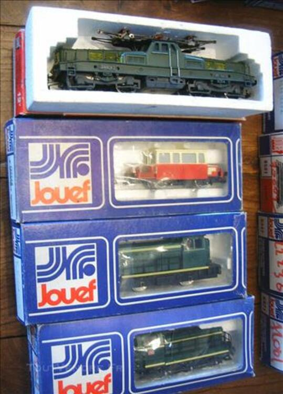 Trains électrique jouef  neuf en boite d 'origine lot ! 83092857