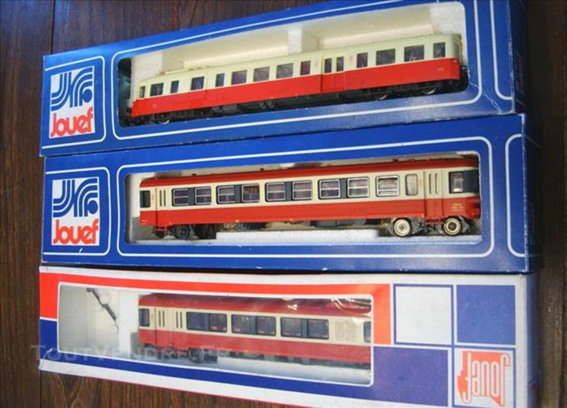 Trains électrique jouef  neuf en boite d 'origine lot ! 83092858