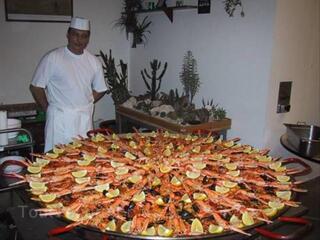 Traiteur Paella et plats geants