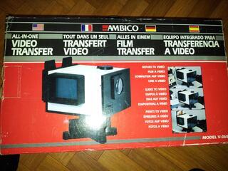 Transfert diapositives photo Ambico V-0651