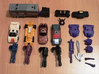 Transformers Menasor g1 original