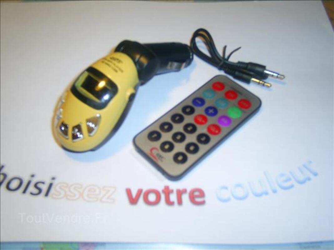 Transmetteur recepteur mp3 pour voiture 71330051