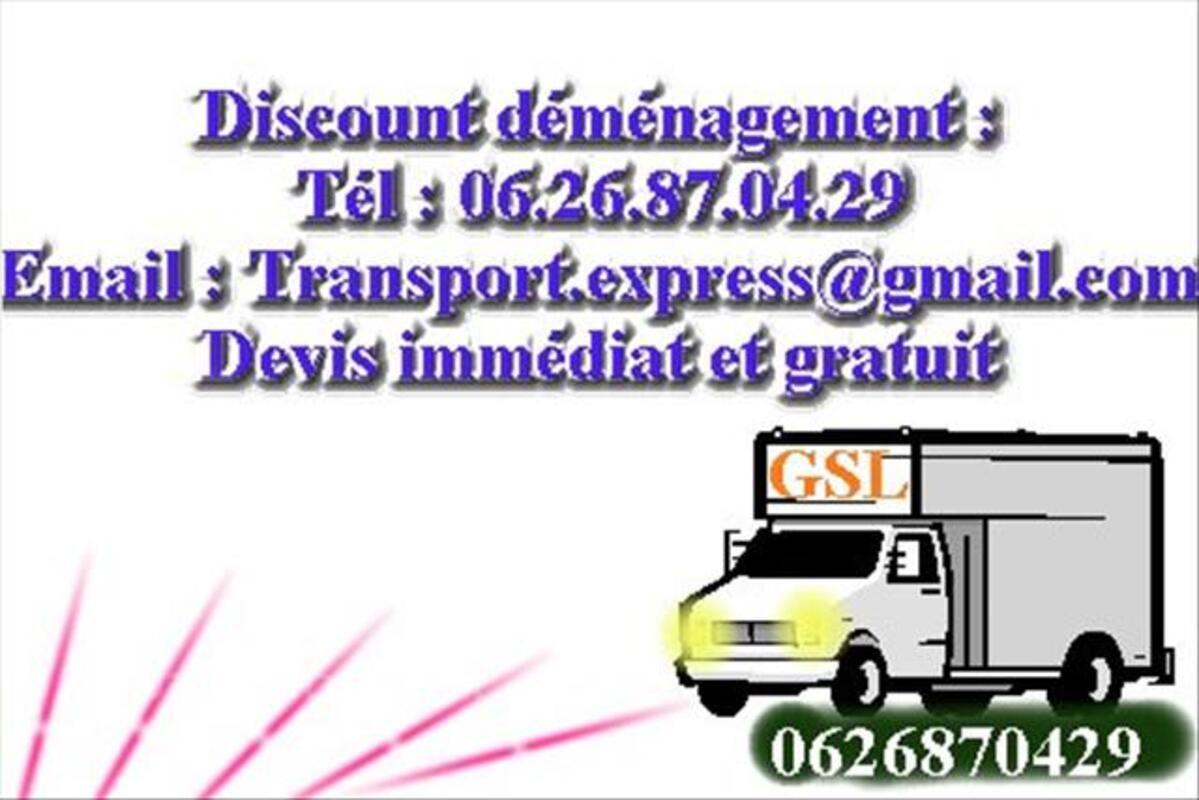 Transport et demenagement Paris 82465537