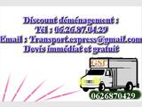 Transport et demenagement Paris