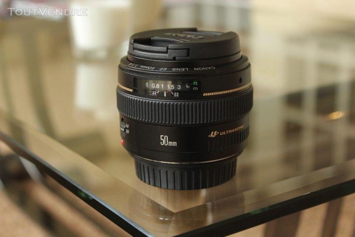 Très bon état Canon 50mm 1.4 350324806