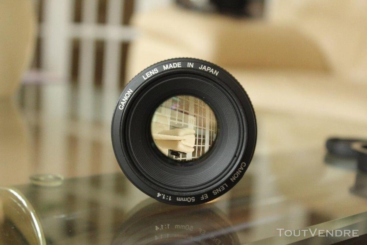 Très bon état Canon 50mm 1.4 350324810
