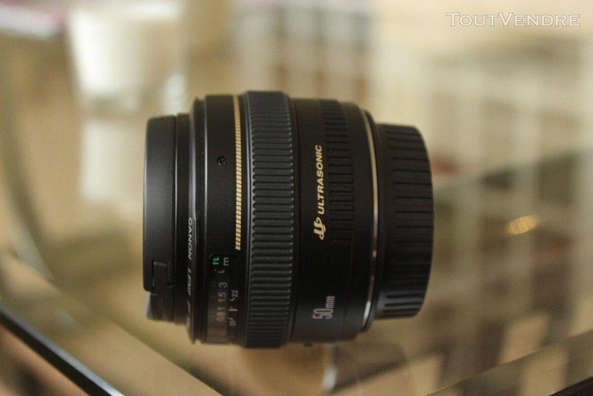Très bon état Canon 50mm 1.4 350324828