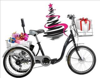 Tricycle à Assistance Electrique pliant NEUF