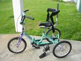 Tricycle pliant pour enfant handicape