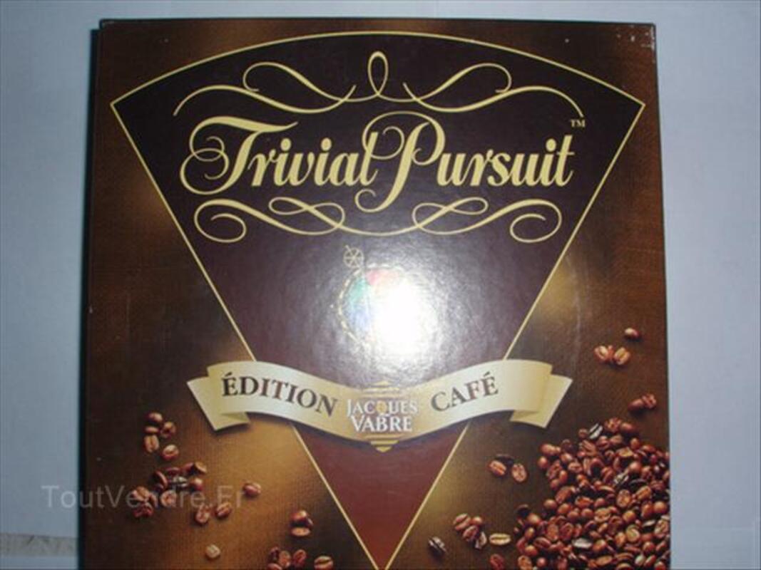 "TRIVIAL PURSUIT "" EDITION CAFE JACQUES FABRE "" NEUF 46108226"