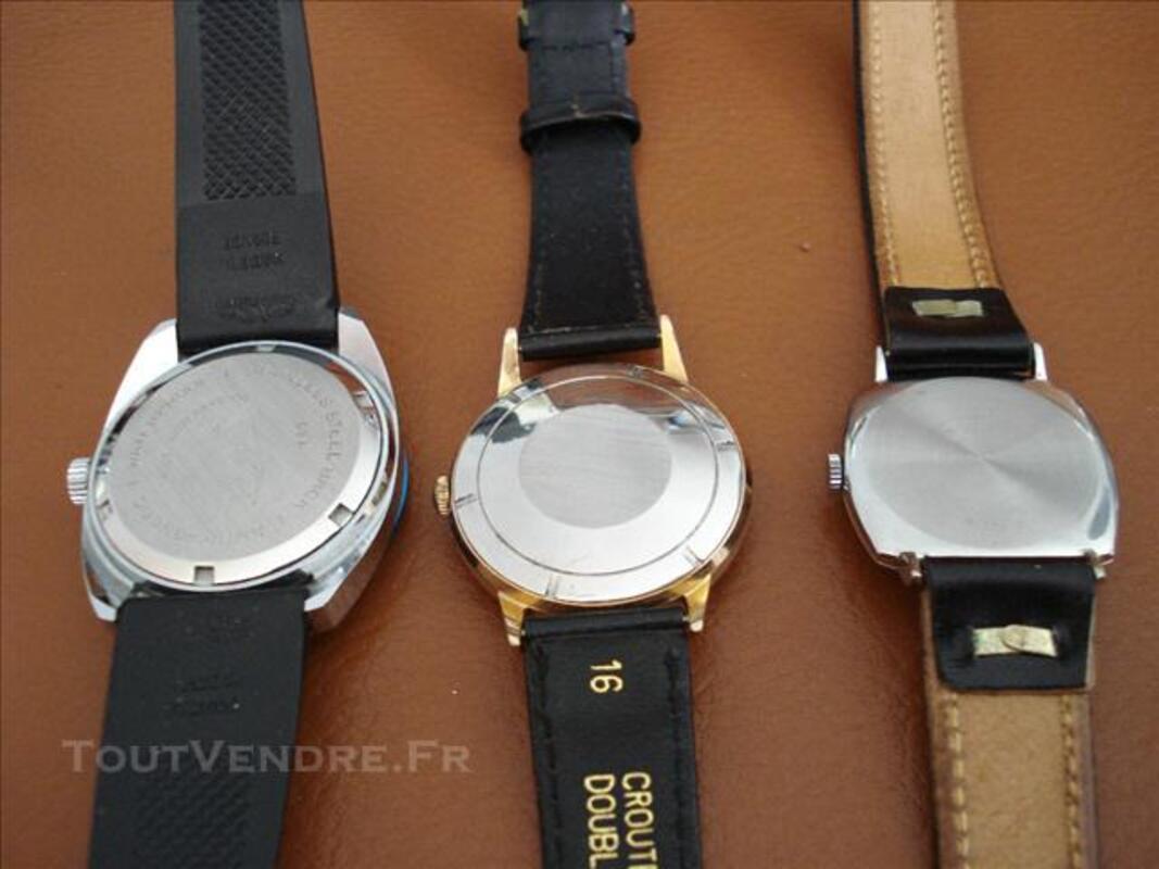 Trois montres AIRAIN TBE 75712365