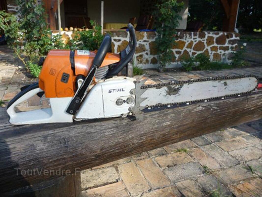 TRONCONNEUSE STIHL 066 (moteur neuf) 56437052