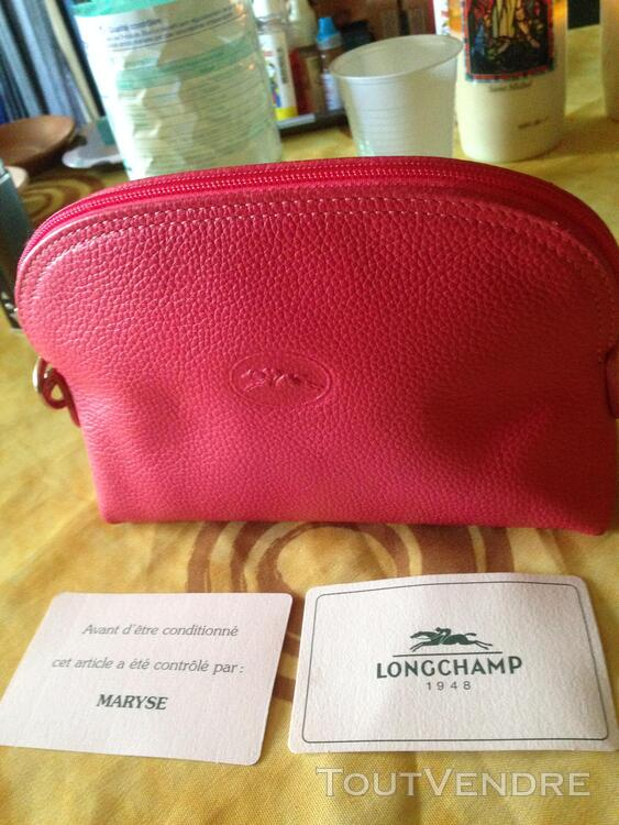 TROUSSE LONGCHAMP ROSE 223681220