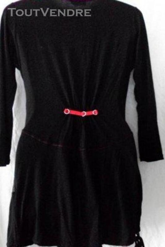 Tunique Tshirt  noir CACHE CACHE 42 219404505