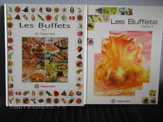 Tupperware les buffets tome 1 et 2