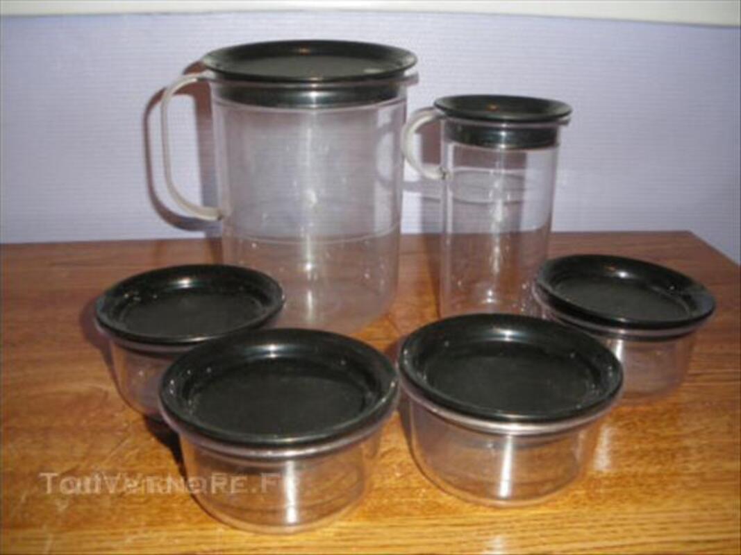 Tupperware lot de 4 coupelles 1 pichet 45531188