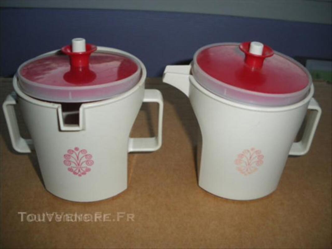 Tupperware verse doux vintage couvercle rouge 45527919