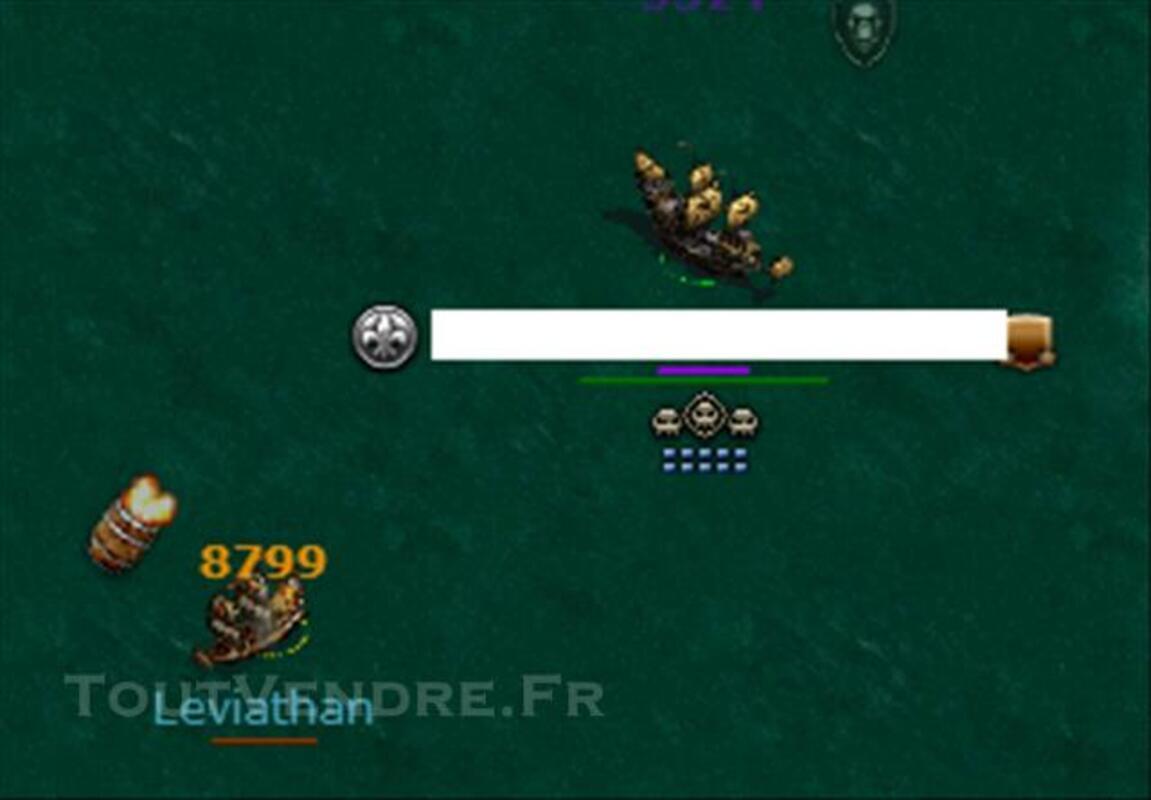 URGENT!!Vente compte seafight Prix correct attendu 81369995
