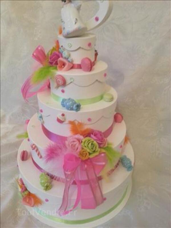 Urne de mariage thême bonbons  gourmandise 90973461