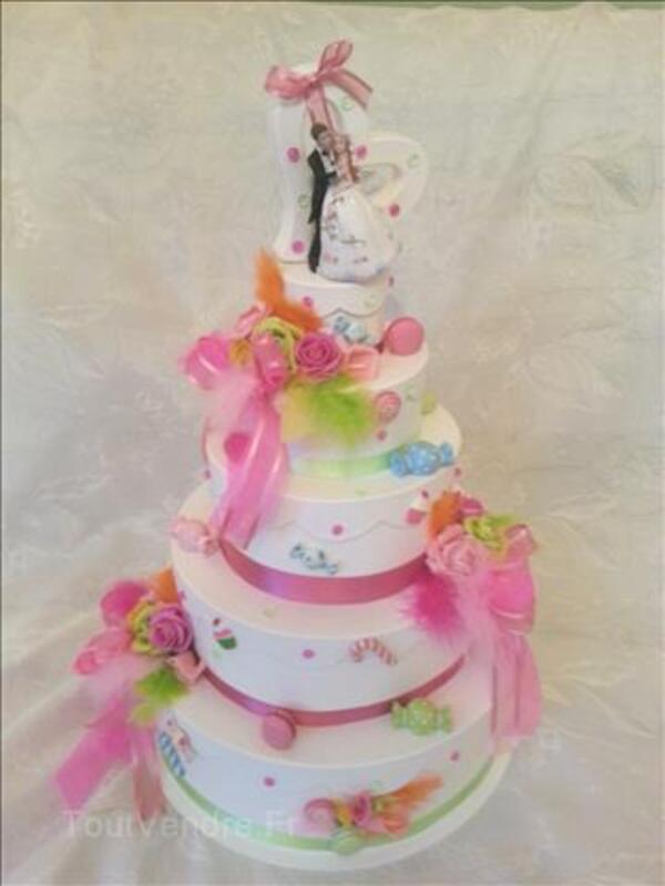 Urne de mariage thême bonbons  gourmandise 90973462