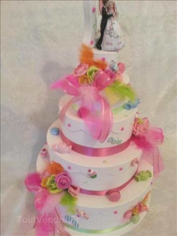 Urne de mariage thême bonbons  gourmandise 90973464