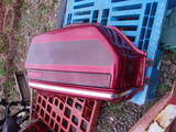 VALISE DROITE ROUGE CANDY 1500 HONDA GOLDWING