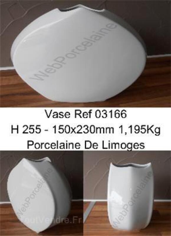 Vase 03166 porcelaine de limoges 36883939