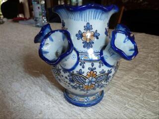 Vase pique fleurs ancien Amontagnon