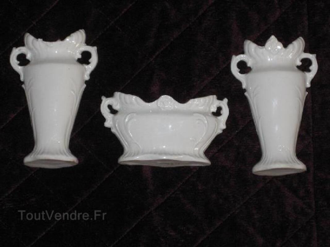 Vases de mariée anciens-dînette de poupées porcelaine 102504100