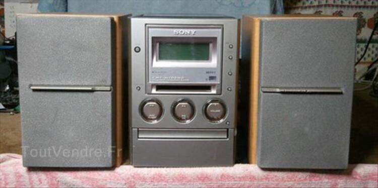 Vds mini chaine hifi stereo Sony CMT-M100MD 64615159