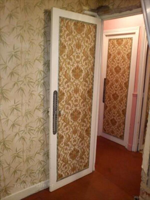 Vds Porte intérieure en bois ancienne vitrée et pleine 66106161