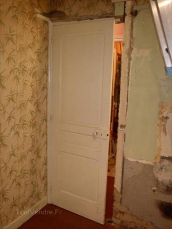 Vds Porte intérieure en bois ancienne vitrée et pleine 66106162