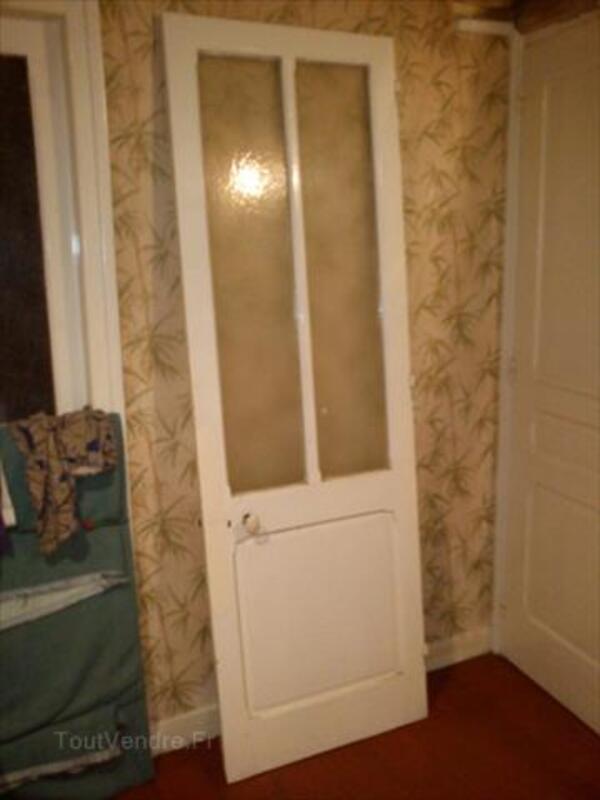 Vds Porte intérieure en bois ancienne vitrée et pleine 66106163